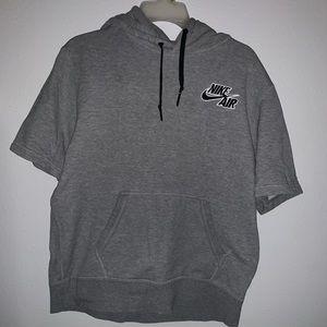 Short sleeve nike hoodie